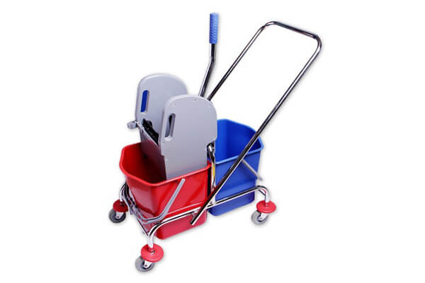 45. Trolley with 2 buckets